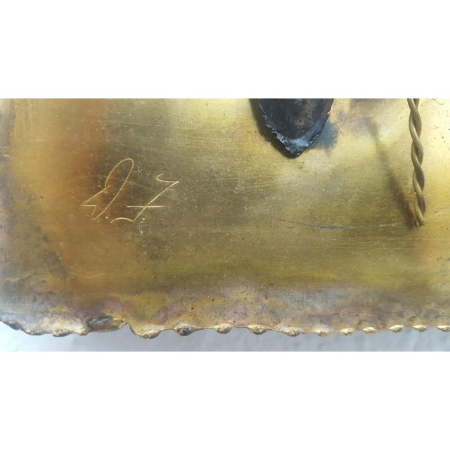 Curtis Jere Style Landscape Abstract Wall Sculpture - Image 10 of 11