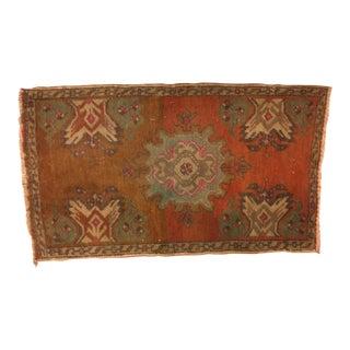 Tribal Oushak Anatolian Rug - 1′8″ × 2′10″
