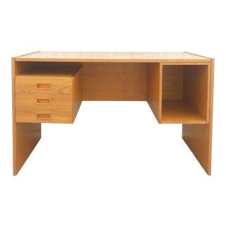 Danish Modern Three Drawer Writing Desk For Sale