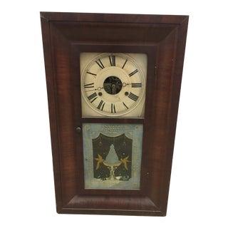 1876 Seth Thomas Wall Clock For Sale