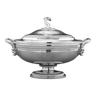 George III Silver Soup Tureen by Paul Storr For Sale
