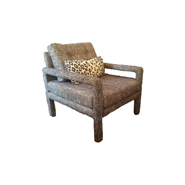 Mid-Century Modern Parsons Chair - Image 2 of 9