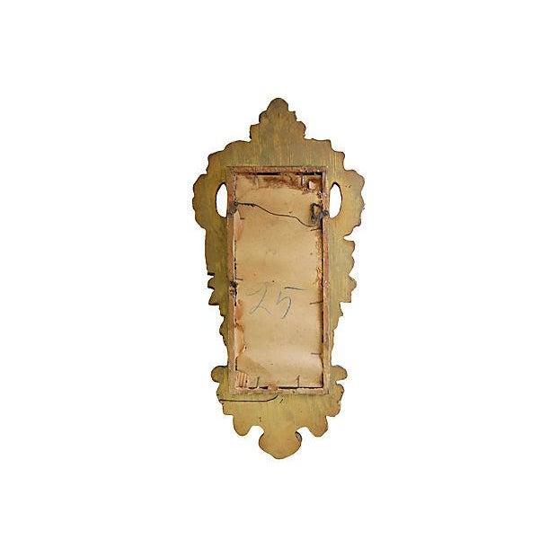 1950s Italian Gilt & Mirrored Shelf - Image 7 of 7