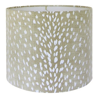 Antelope Fabric Lamp Shade For Sale