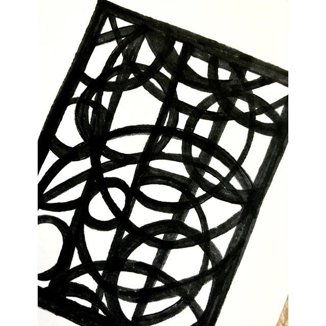 """Lineworks I"" Original Mixed Media Painting - Image 5 of 6"