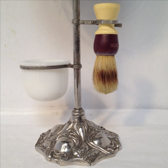 Antique Shaving Stand For Sale In Sacramento - Image 6 of 11