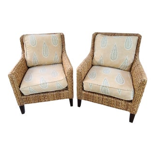 Baker Furniture for Milling Road Club Chairs - a Pair For Sale