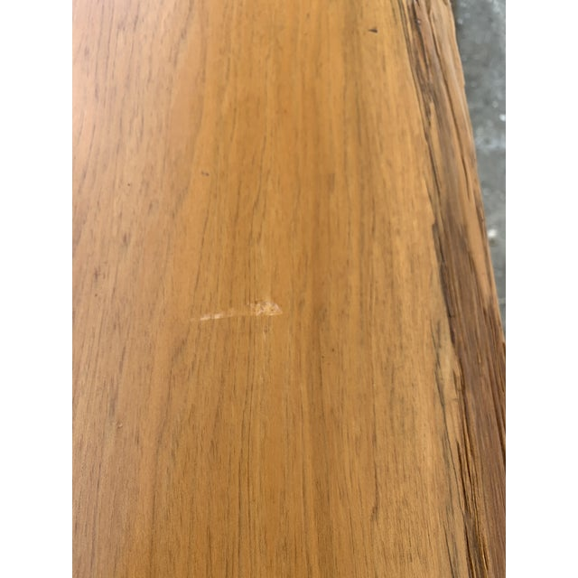 Studio Craft Pecky Cypress Table For Sale - Image 9 of 11