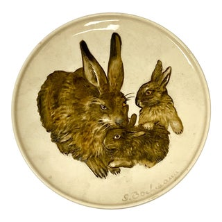 1975 Goebel Mother's Series Rabbit Plate For Sale