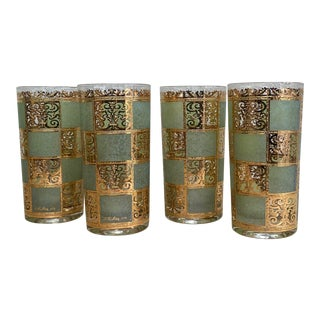 Culver Prado Highball Glasses - Set of 4 For Sale