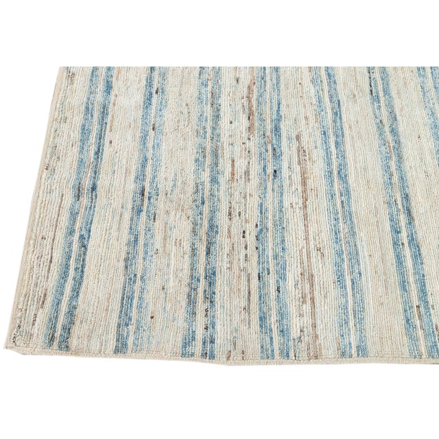 """21st Century Modern Moroccan-Style Rug, 8'0"""" X 9'10"""" For Sale - Image 10 of 11"""