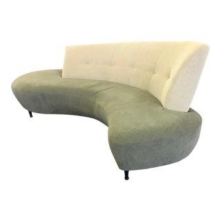 1970s Vintage Vladimir Kagan Sculptural Bibao Sofa