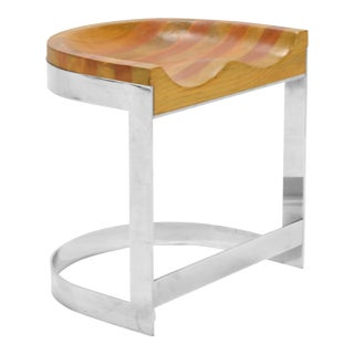 Warren Bacon Low Stool For Sale