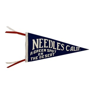 Vintage Needles, Ca Pennant For Sale