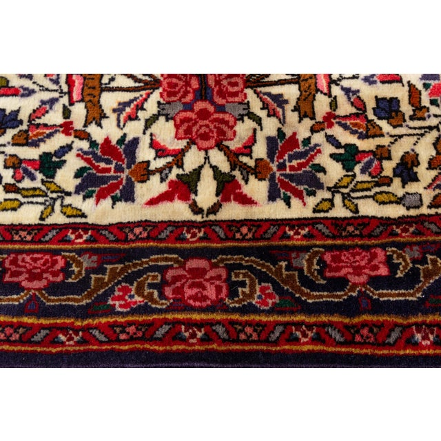 """Vintage Persian Rug, 2'7"""" X 3'6"""" For Sale - Image 4 of 6"""
