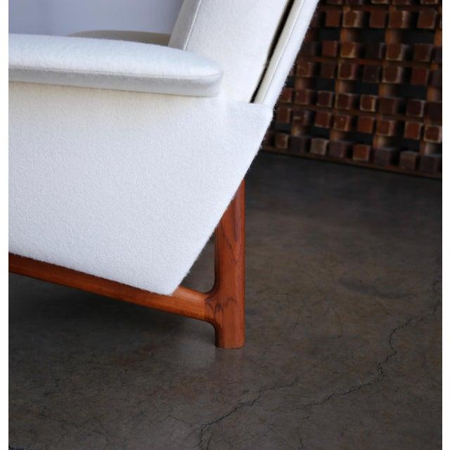 "Mid 20th Century Ib Kofod-Larsen ""Adam"" Lounge Chairs for Mogens Kold Møbelfabrik Circa 1960 - a Pair For Sale - Image 5 of 13"
