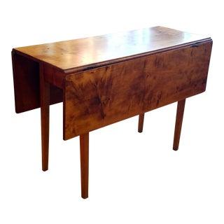 Maple Swing-Leg Drop Leaf Table