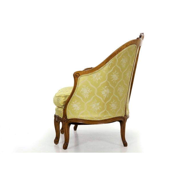 French 19th Century French Antique Canapé Sofa Settee in Louis XV Style For Sale - Image 3 of 13