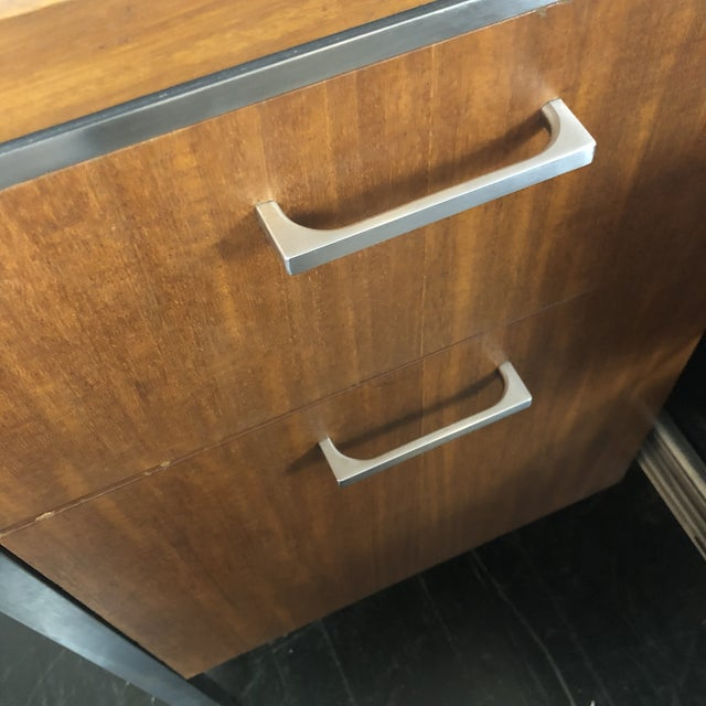 1960s Mid Century Modern Walnut File Drawers by the General Fireproofing Co For Sale - Image 9 of 13