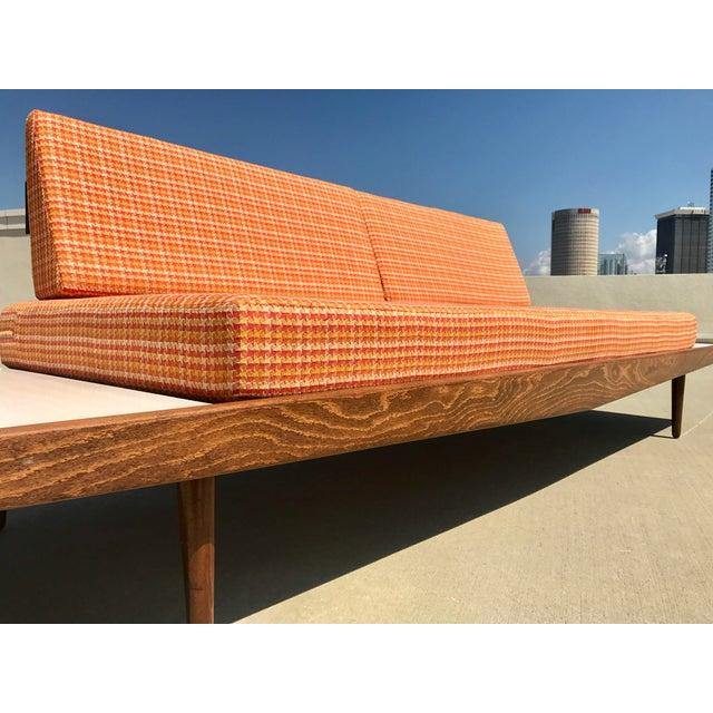 Mid-Century Formica Platform Sofa For Sale - Image 10 of 11