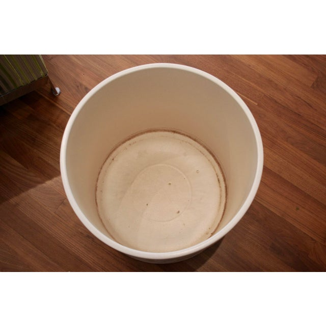 Tan Tree Size Gainey Architectural Pottery Planter For Sale - Image 8 of 12