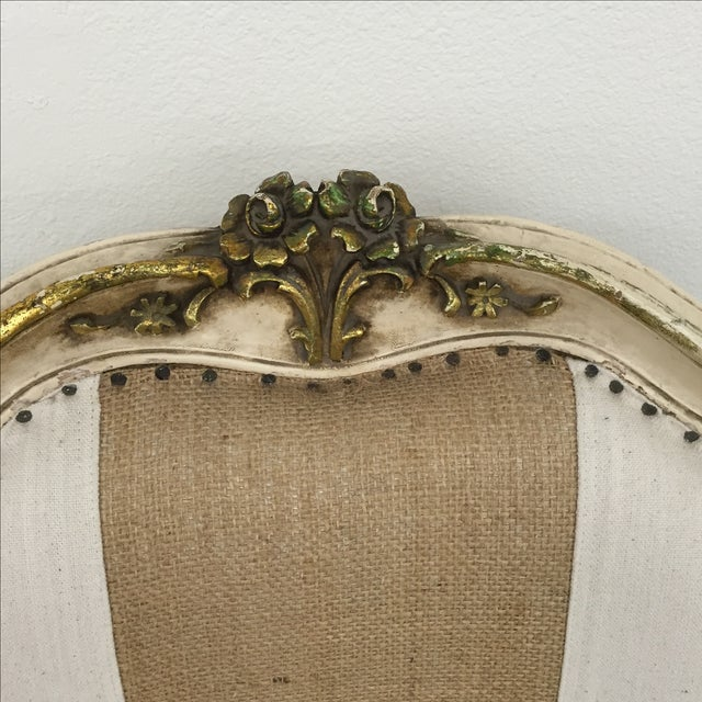 Vintage Louis XV Style Armchairs - Pair - Image 4 of 11