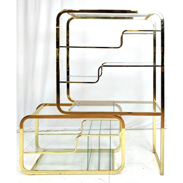 Milo Baughman for d.i.a Etagere For Sale In New York - Image 6 of 6