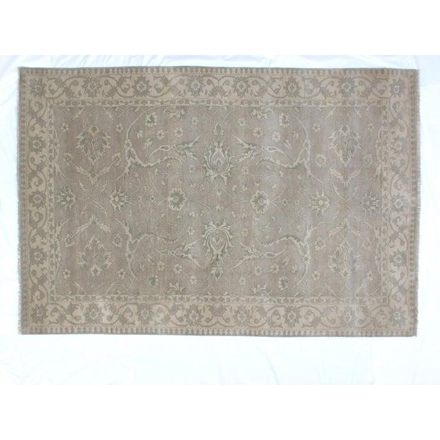 Persian Leon Banilivi Genuine Agra Carpet - 6' X 8'10 For Sale In New York - Image 6 of 6