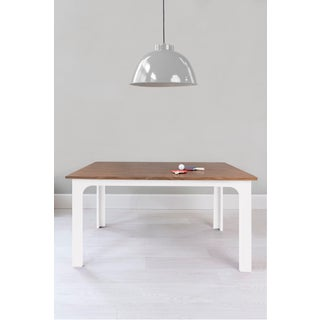 "Craft Kids 42"" Table in Walnut With White Finish Preview"