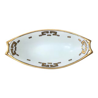 20th Century Art Deco Porcelain Dish For Sale
