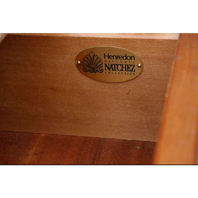 Henredon Historic Natchez Collection Chest of Drawers For Sale - Image 9 of 11