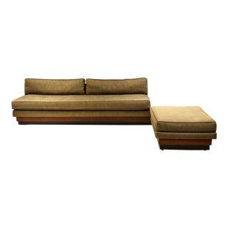 1960s Vintage Adrien Pearsal L-Shape Sofa For Sale