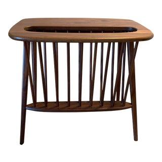 Mid Century Modern Arthur Umanoff Magazine Rack Side Table For Sale