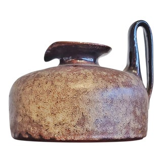 Elke & Elmar Kubicek Studio Pottery Vase For Sale