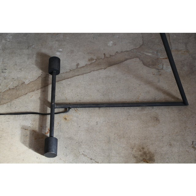 """Metal Mid-Century """"Z"""" Form Floor Lamp For Sale - Image 7 of 13"""