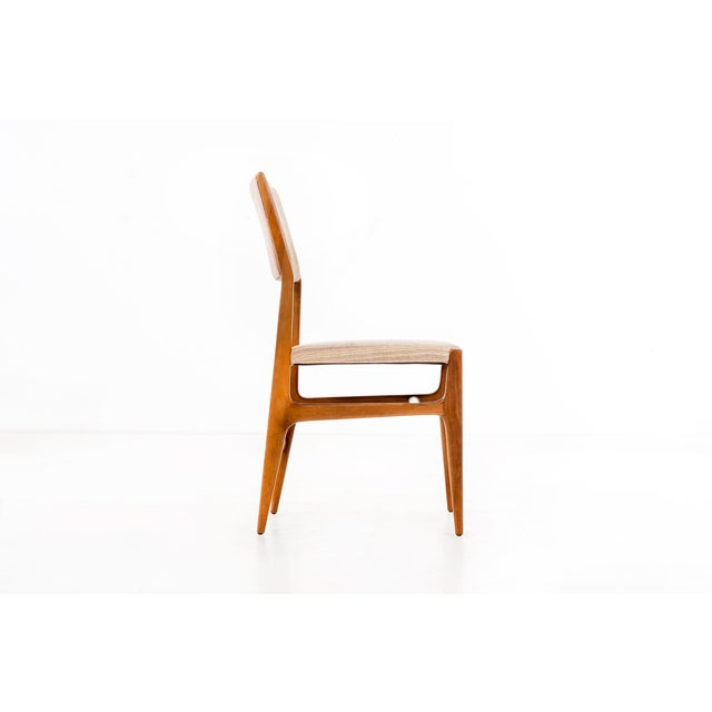 1950s Set of 6 Gio Ponti Dining Chairs For Sale - Image 5 of 10