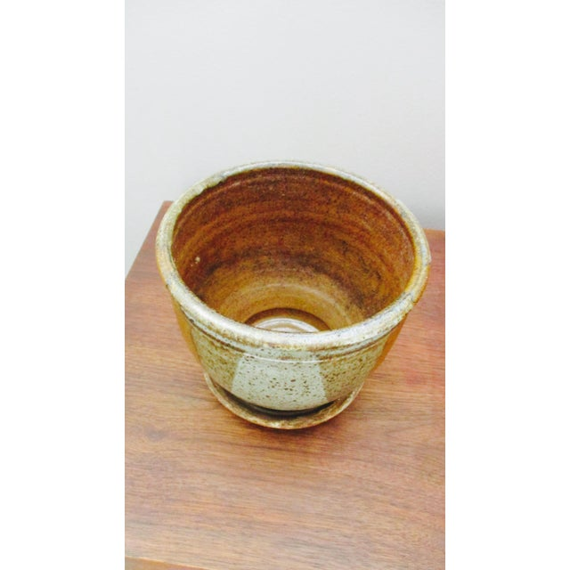 Ceramic Robert Maxwell Style Glazed Planter For Sale - Image 7 of 9