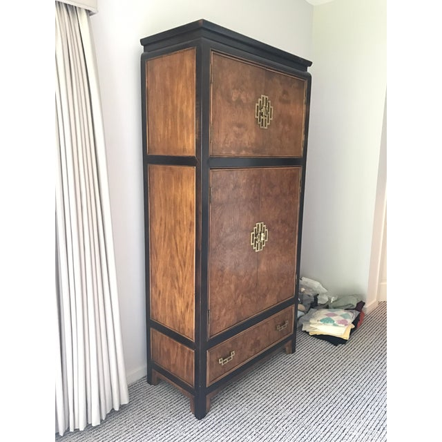 Century Furniture Company Midcentury Mod Asian Style Cabinet Wardrobe Dresser For Sale In New York - Image 6 of 6