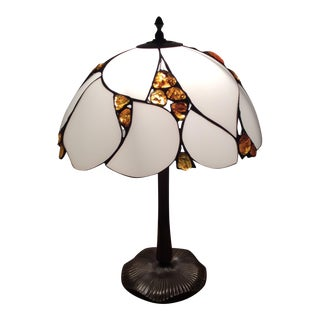 Tiffany Amber Lamp For Sale