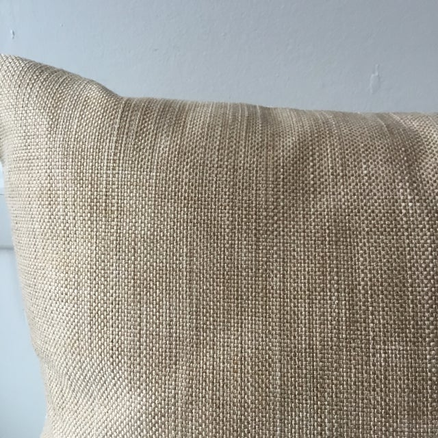 Neutral Tiger Stripe Pillow For Sale - Image 4 of 10