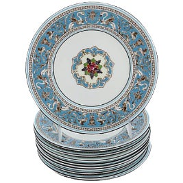Wedgwood Florentine Dessert Plates - Set of 10 For Sale
