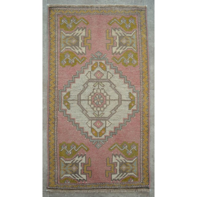 Front Of Kitchen Sink Rug Hand Made Bath Mat Faded Stylish Mini Rugs