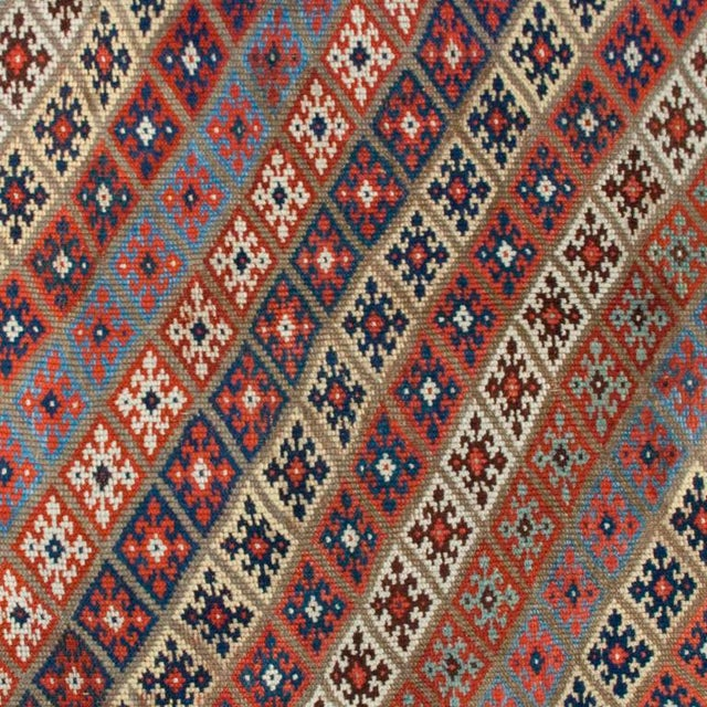 """Early 20th Century Persian Carpet - 4'7"""" x 11'2"""" For Sale - Image 4 of 4"""