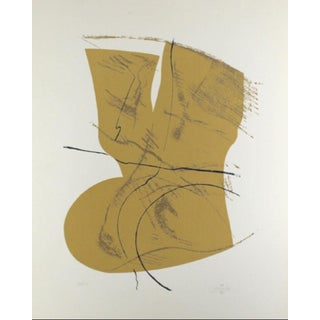 1978 Abstract Signed Silkscreen by Acisclo Manzano