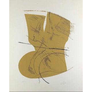 1978 - Acisclo Manzano - Abstract Signed Silkscreen