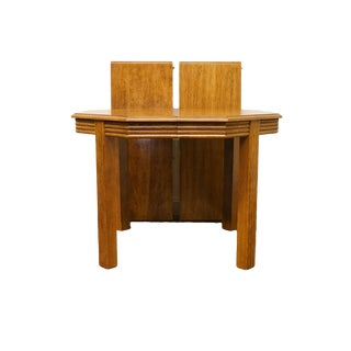 """20th Century Traditional Thomasville Furniture Sundance Collection 74"""" Dining Table For Sale"""