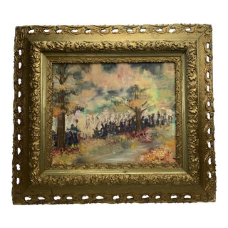 French Post Impressionist Painting For Sale