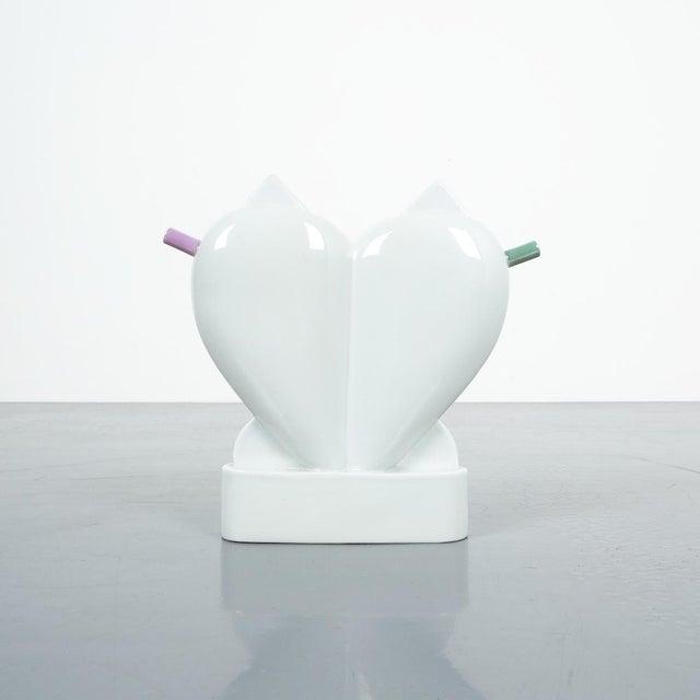 White Matteo Thun Extravergine Cruet for Anthologie Quartett, 1980's For Sale - Image 8 of 8