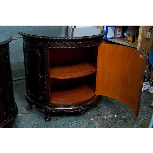 Gerogian Style Demi Lune Commode - Image 8 of 10