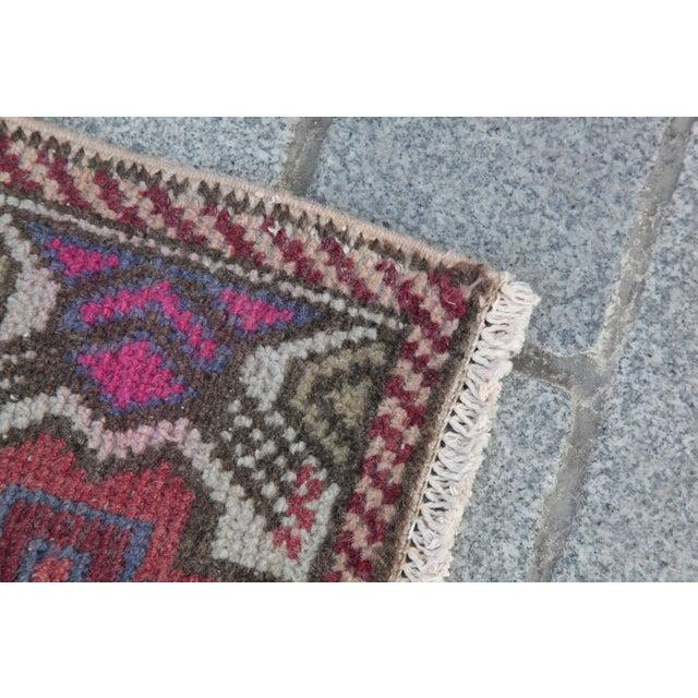 Antique Turkish Carpet - 1′6″ × 3′1″ - Image 8 of 11
